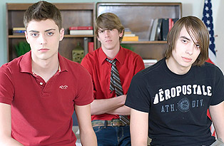 Twinks detention turns into wazoo thrashing madness