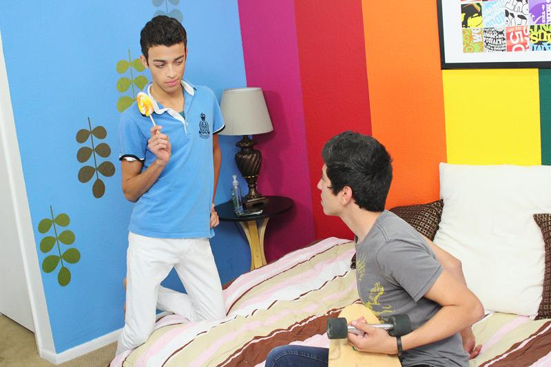 Dustin Cooper, Jack Presley gay twinks 18+ video from Lollipop Twinks