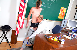 Jesse Lacroix gay twinks 18+ video from Teach Twinks
