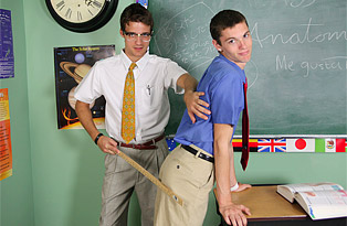 Adam Scott, Krys Perez gay twinks 18+ video from Teach Twinks