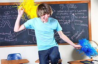 Brice Carson gay twinks 18+ video from Teach Twinks